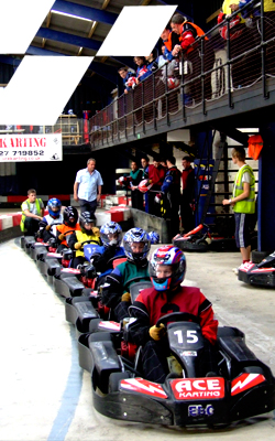 Senior Karts powered by Honda 200cc engines